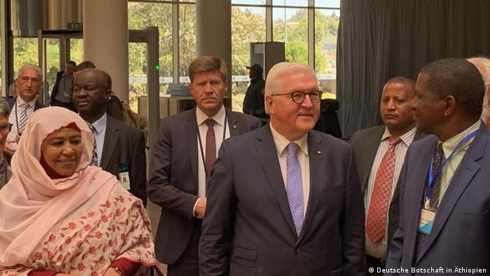 Äthiopien Afrikanische Union   Bundespräsident Frank-Walter Steinmeier in Addis Abeba