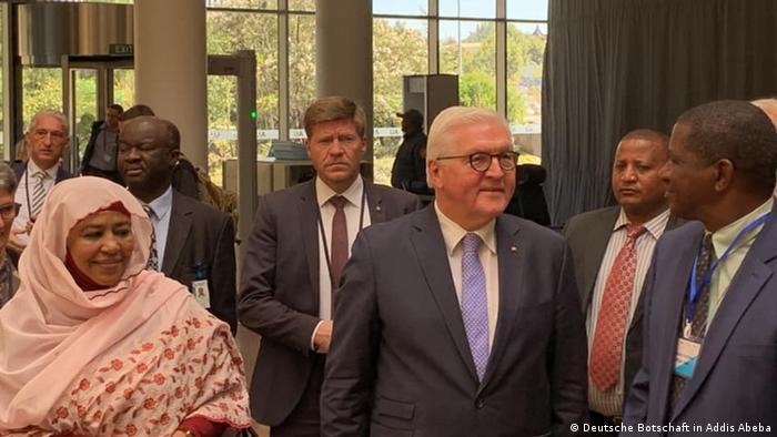 Besuch von Bundespräsident Steinmeier in Äthiopien