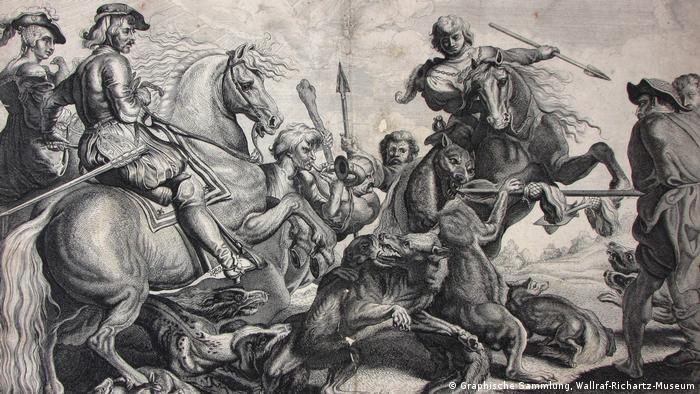 Ausstellung Der Wolf Zwischen Mythos und Märchen | Willem van der Leeuw (1603 – um 1665) (Graphische Sammlung, Wallraf-Richartz-Museum)