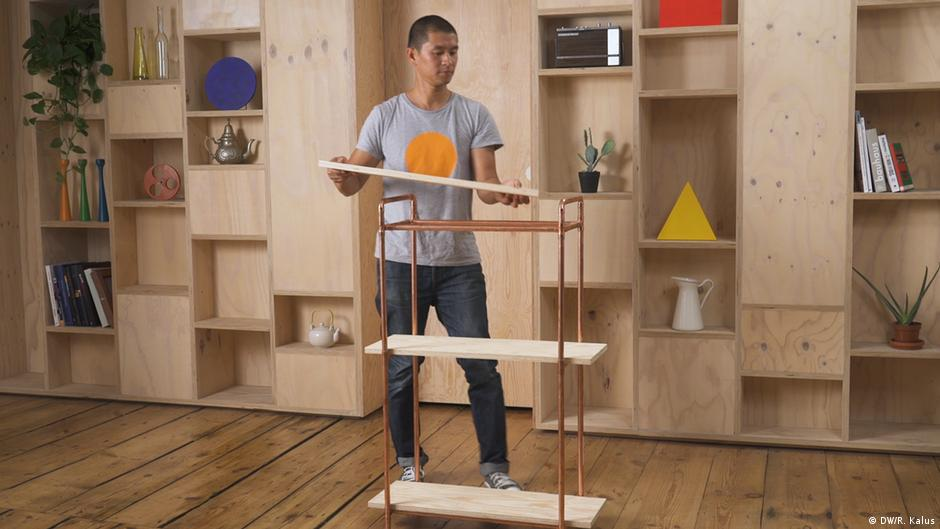 Berühmt How To Bauhaus - das Bauhaus-Möbel-DIY | Lebensart | DW | 27.02.2019 YJ44