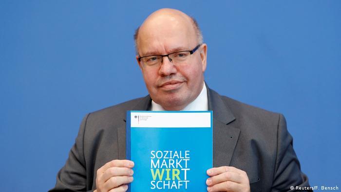Vorstellung des Jahreswirtschaftsberichts durch Wirtschaftsminister Altmaier