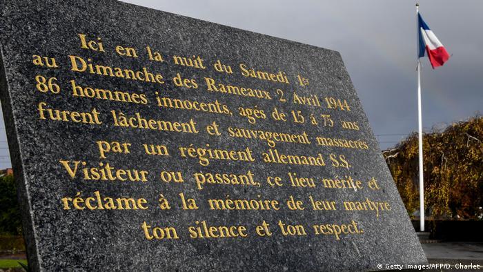 Plaque at Ascq, France