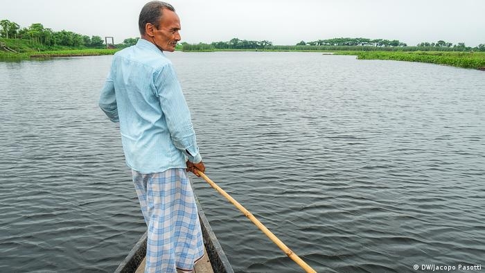 Farmer Hari Podo in Gopalganj, Bangladesh
