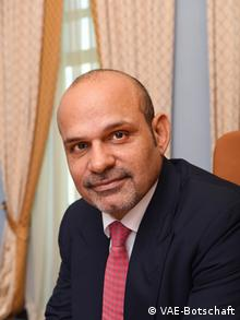 UAE Ambassador to Germany Ali Abdulla Al Ahmed (VAE-Botschaft)