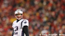 Tom Brady Nummer 12 der New England Patriots