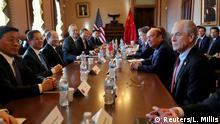 USA China Gespräche im Handelskonflikt