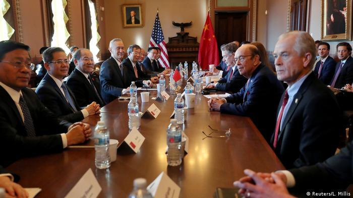 USA China Gespräche im Handelskonflikt (Reuters/L. Millis)