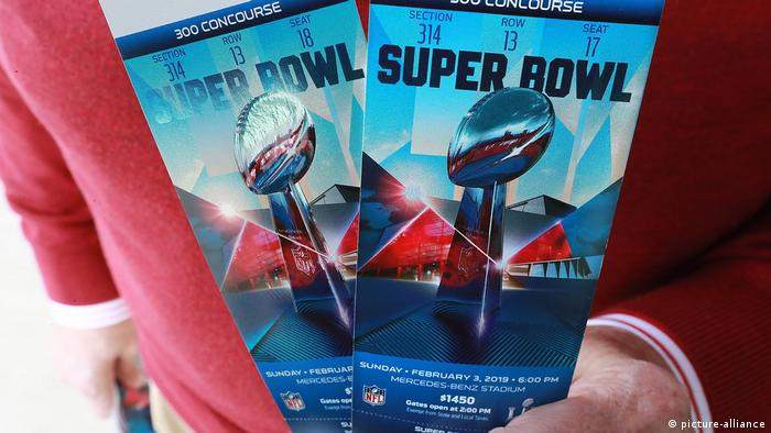 Super Bowl LIII Tickets (picture-alliance)