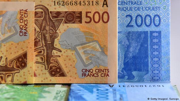 Die Währung Franc CFA