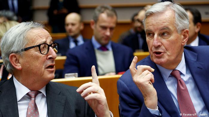 Jean-Claude Juncker und Michel Barnier