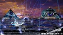 Photo: Pyramids in Egypt Description: Pyramids in Egypt Location: DUBAI, UAE Date: 29.01.2019 Copy right: Prisme Entertainment