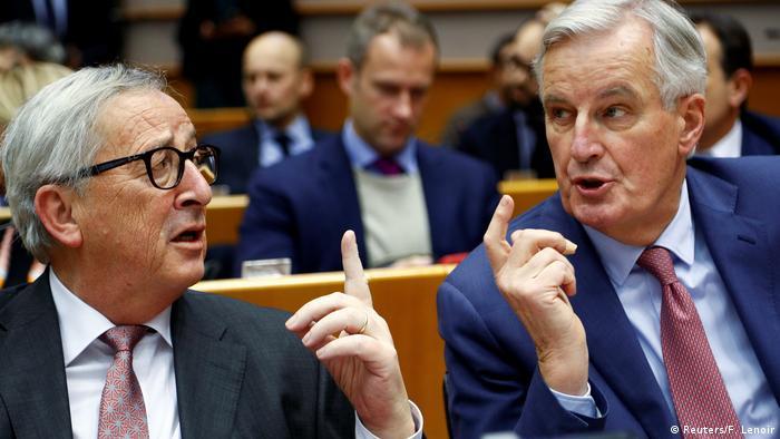 Jean Claude Juncker und Michel Barnier