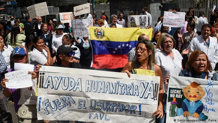 Venezuela Anti-Regierungs- Proteste in Caracas