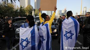 Israel Proteste gegen Polizeigewalt in Tel Aviv