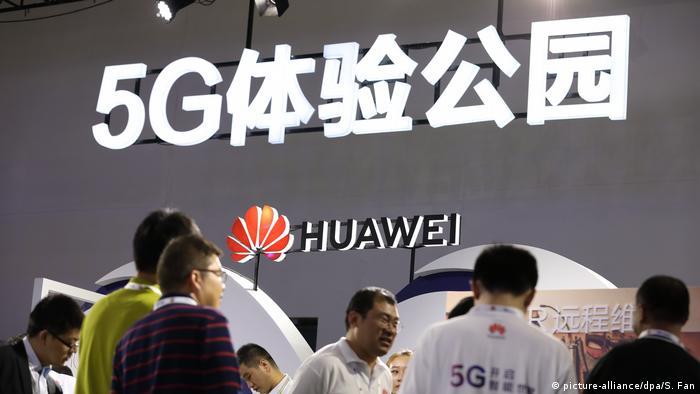 China Huawei 5G Netz (picture-alliance/dpa/S. Fan)
