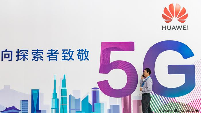 China Huawei 5G Netz (picture-alliance/dpa/Z. Min)