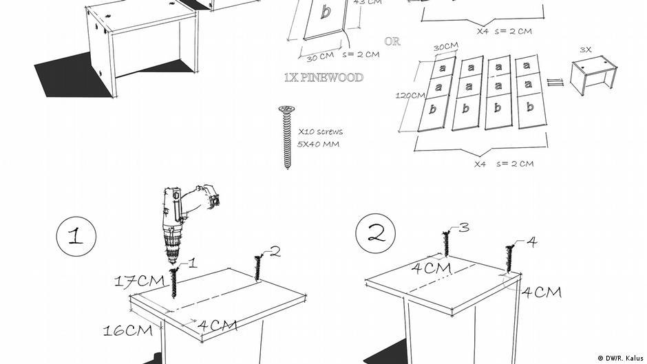 Turbo How To Bauhaus - das Bauhaus-Möbel-DIY | Lebensart | DW | 27.02.2019 SF42