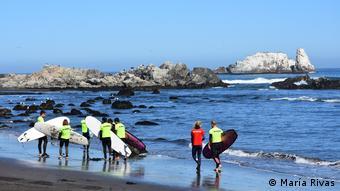 Surfcamp PASCH-Schüler in Matanzas, Chile