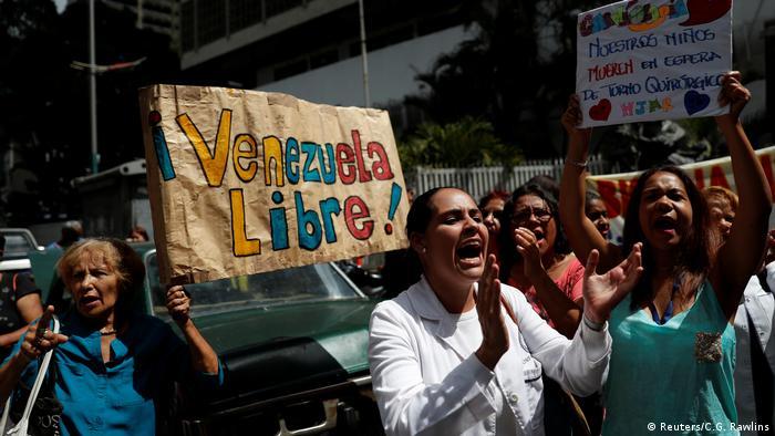 Venezuela, Proteste in Caracas