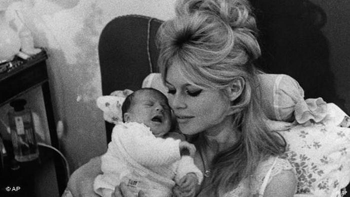Brigitte Bardot Flash-Galerie Baby