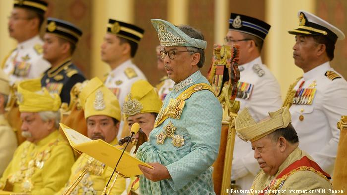Malaysia's new King Sultan Tengku Abdullah