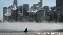 Bildergalerie USA Kältewelle Chicago
