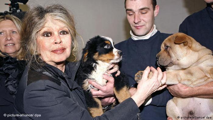 Brigitte Bardot besucht Tierschutzzentrum in Nizza