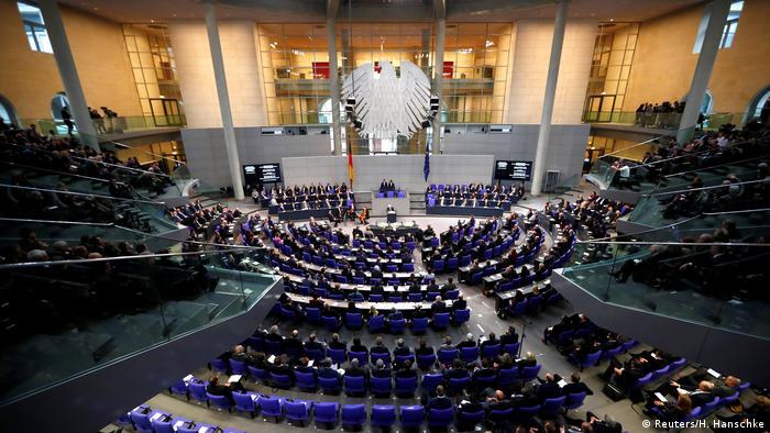 Deutschland Holocaust Gedenkstunde in Bundestag