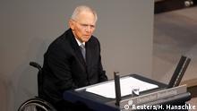 Deutschland Holocaust Gedenkstunde im Bundestag Wolfgang Schäuble