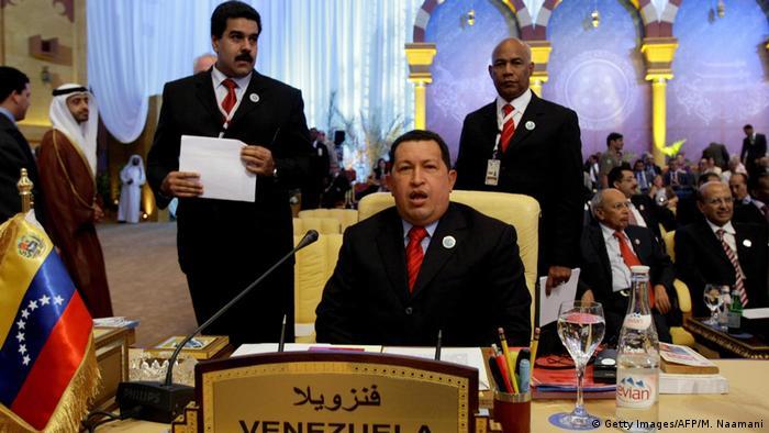 Katar Hugo Chavez Präsident Venezuela