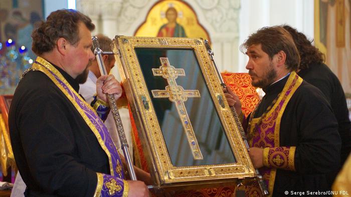 Копия креста святой Евфросинии Полоцкой