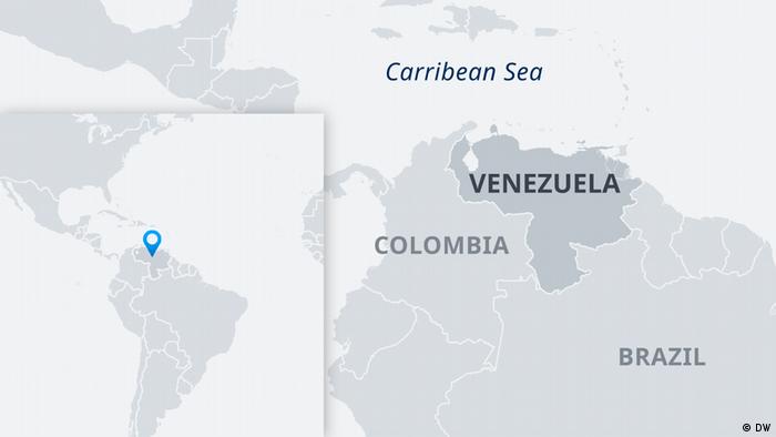 Karte Venezuela EN
