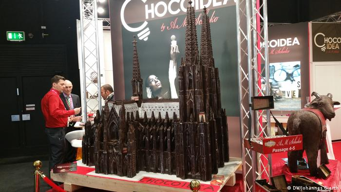 Cologne cathedral in chocolate (DW/Johannes Gierth)