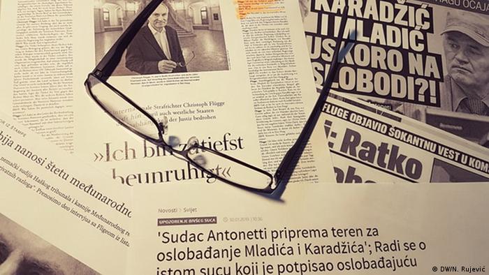 Serbien Medien Fake News (DW/N. Rujević)