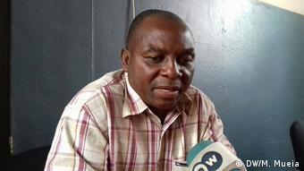 Mosambik Izequiel Azaraujo Sekretär des Blindenvereins in Quelimane