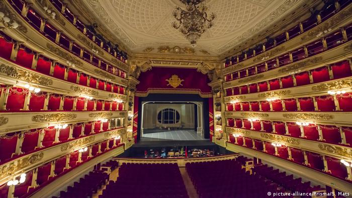 Faszination Oper | Scala theatre in Milan, Italien (picture-alliance/Prisma/S. Mats)