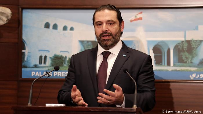 Libanon designierter Primierminister Saad al-Hariri (Getty Images/AFP/A. Amro)