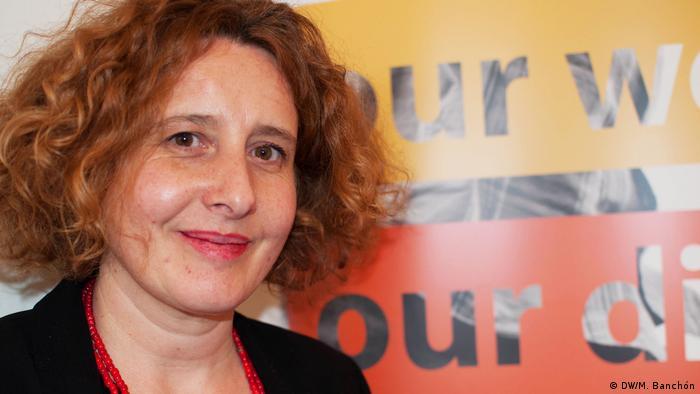 Oxfams Leitender Beraterin Belén Sobrino