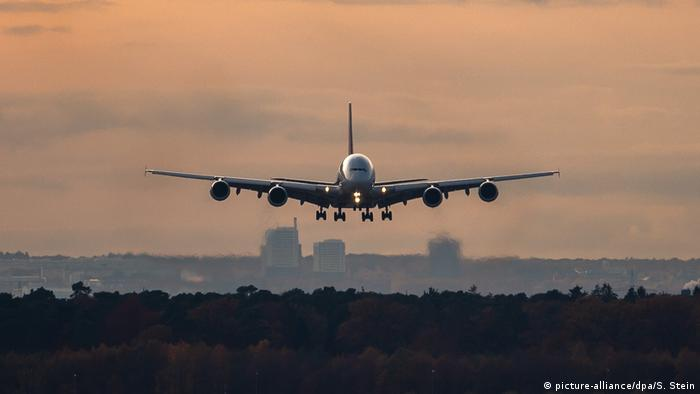 Passagierflugzeug Asiana Airline