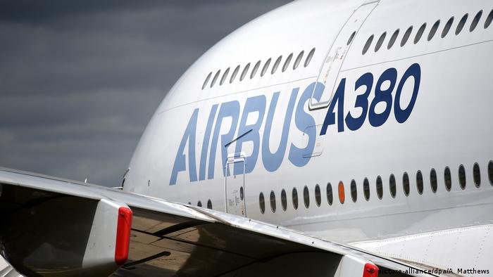 An Airbus A380 (picture-alliance/dpa/A. Matthews)
