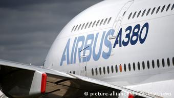 Airbus A380 (picture-alliance/dpa/A. Matthews)