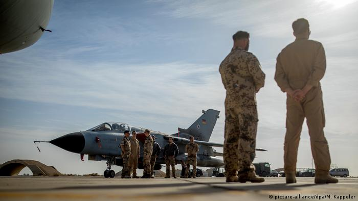 German Tornado jets in Jordan