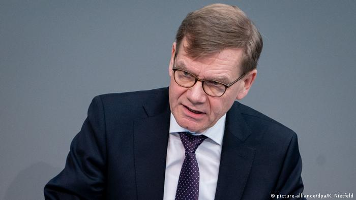Bundestag Johann Wadephul (CDU) (picture-alliance/dpa/K. Nietfeld)