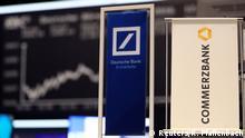 Banner Deutsche Bank und Commerzbank