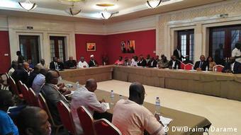 Bissau - Vorbereitung der Wahl