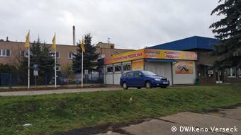 Tschechien Iillegale Arbeiter Fabrik Vodanská in Mirovice