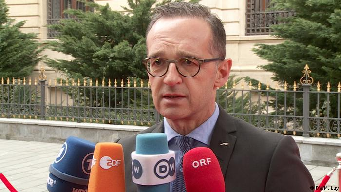German Foreign Minister Heiko Maas (DW/M. Luy)