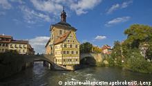 Altes Rathaus, Bamberg, Oberfranken, Bayern, Deutschland, Europa, ÖffentlicherGrund, Europa | Verwendung weltweit, Keine Weitergabe an Wiederverkäufer.