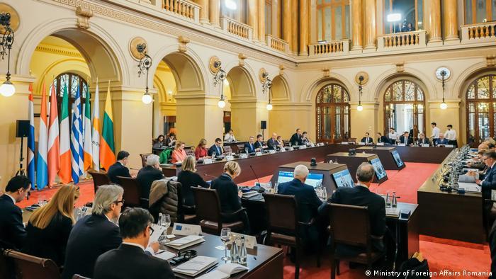 Bucharest Gymnich EU Aussenminister