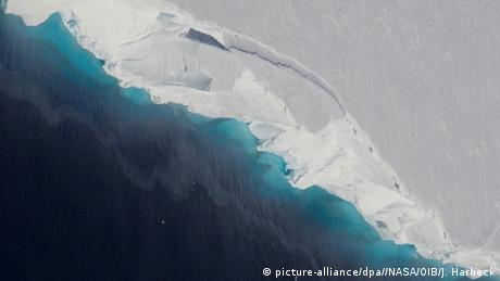 Antarktis Thwaites-Gletscher (picture-alliance/dpa//NASA/OIB/J. Harbeck)